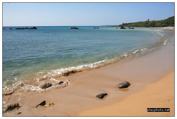 墾丁船帆石沙灘